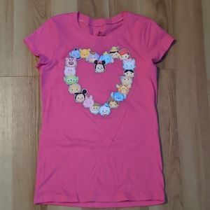 Girls Tee Disney Pink